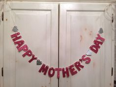 Happy Mother's Day Banner by Hawthorne Ave on Etsy