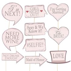 Bridal Shower Team Bride to be Photo Booth Props Girls Night Out Wedding Bachelorette Party Decorations Bachelorette Party Signs, Bachelorette Weekend, Team Bride, Photo Booth Props, Party Photos, Girls Night Out, Maid Of Honor, Bridal Shower, Party Gifts