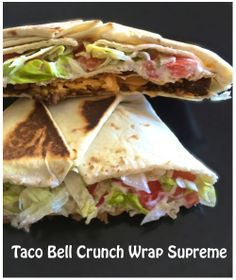 Taco Bell Crunch Wrap Supreme