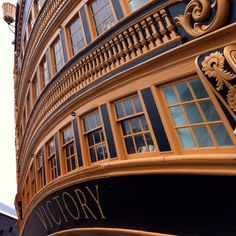 HMS Victory, Admiral Nelson's last fling with the French.