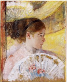 Thé au Jasmin: Mary Cassatt (1844 - 1926), At the Theatre