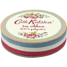 Add the finishing touch to your craft projects or gift wrapping with this pretty printed ribbon.