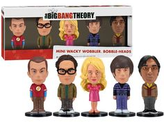 Big Bang Theory bobbleheads.  Really, do they want me to get ANY work done?