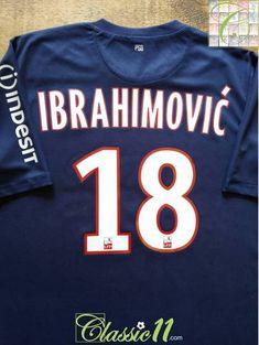 84c68d810f8 2012/13 PSG Home Football Shirt Ibrahimović #10 (L). Official Nike Paris  Saint-Germain ...