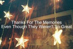 thanks for the memories - fall out boy.