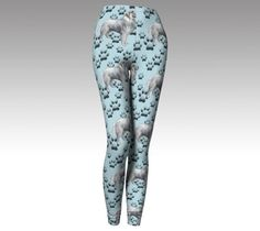 Great Pyr and Paw Prints Leggings by KathysCraftShop on Etsy