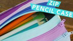 2017  VIDEO  TUTORIAL  DIY Zip Pencil Case | Nailed It