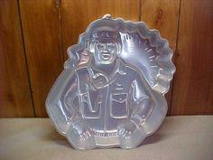 GI Joe/ Soldier/ Policeman Wilton Cake Pan.  $8.50