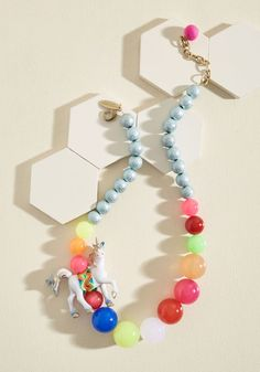Lenora Dame Trot-Provoking Statement Necklace by Lenora Dame from ModCloth