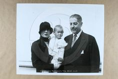 Photo MR. REGINALD VANDERBILT, GLORIA MORGAN VANDERBILT