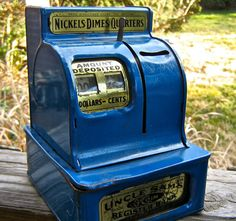 vintage Uncle Sam's 3 Coin Register Bank by pinksupply on Etsy, $38.00
