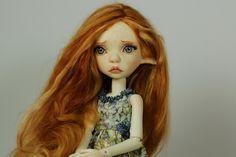 Runa with freckles, BJD by miradolls