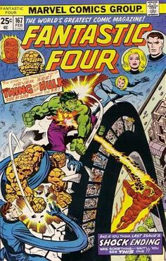 Fantastic Four #167 - Titans Two!
