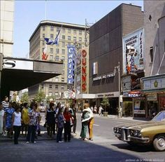 St Catherine, 1971 (pic from Archives de Montreal)
