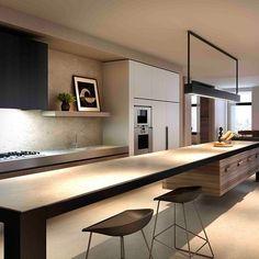 123 Home Renovation Ideas: Contemporary Kitchen Style https://www.futuristarchitecture.com/3130-123-home-renovation-ideas-contemporary-kitchen-style.html #kitchen