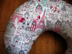 French Village Boppy Cover, Paris Baby Girl Boppy on Etsy, $25.00