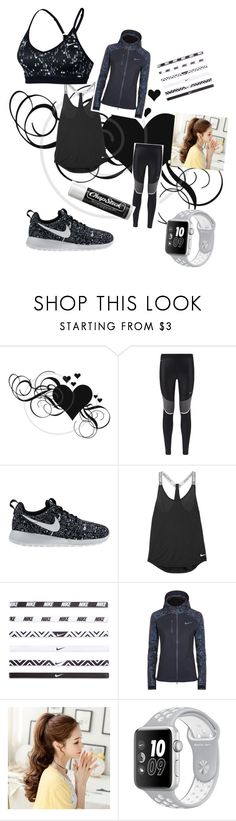 """""""NIKE gym outfit"""" by eviebanker on Polyvore featuring NIKE and Chapstick"""