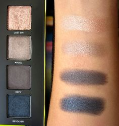 Resenha da paleta de sombras Vice 3 - Urban Decay As cores da paleta Swatch de sombras Urban Decay - Review Palette Vice Shadows 3 - Urban Decay All colors  #maquiagem #vice3 #blogdemoda