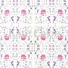 "#HomeDecor  Fabric ""Rose""  watercolour design by Kate Chloe   http://www.katechloe.com/#!product/prd14/4500578731/fabric-%22rose%22"