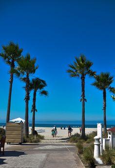 coronado beach (1 of 1) by Angelnina, via Flickr