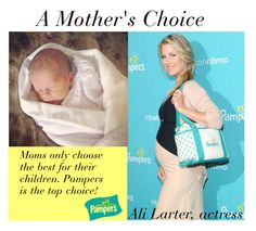 """""""A Mother's Choice"""" by babyblau ❤ liked on Polyvore featuring women's clothing, women's fashion, women, female, woman, misses, juniors, Baby, diapers and Pampers"""
