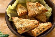 Sandwich di patate vegan al sesamo e verdure, la ricetta facilissima! | 100% green kitchen