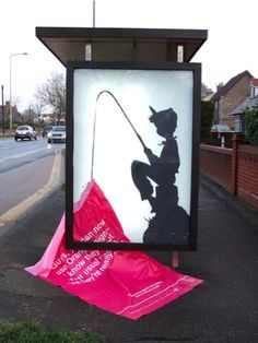 Street art, Nice one.