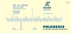 First use of Poleno Typeface was for the Traditional Slovak dancing Ensemble with the same name Poleno. Dancing, Names, Graphic Design, Traditional, Dance, Visual Communication