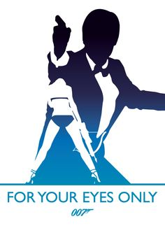 For Your Eyes Only, James Bond by Phil Beverley, via Behance