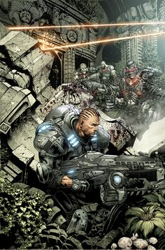GEARS OF WAR 2 by *LiamSharp on deviantART