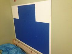 DIY Lego Headboards!!! Any Kids dream!!!! (instructions included)