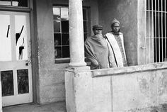 Members of the Russians Gang in a House They Have Taken Over, Newclare South, Johannesburg, by David Goldblatt David Goldblatt, African Artists, Statue, Gallery, Photographers, House, Painting, Paintings, Haus
