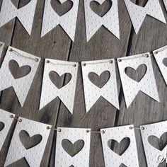 Tiny Dots Wedding Banner