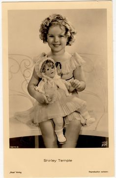 1935 Shirley Temple & an Ideal Shirley Temple Baby