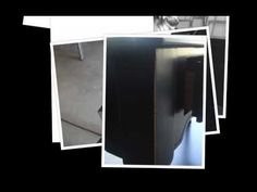 Pottery Barn's Black Distressed Finish Painting Tutorial...