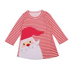 Toddler Kids Baby Girls Santa Striped Princess Dress Christmas Outfits Clothes Attention plz: If your kid is chubby, we recomend choosing a larger size, thanks. Baby Girls, Cute Newborn Baby Girl, Toddler Girls, Kids Girls, Girls Christmas Dresses, Christmas Outfits, Christmas Girls, Christmas 2019, Toddler Christmas Dress