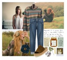 """""""HIPSTER // HAPPINESS"""" by bubblywisdom ❤ liked on Polyvore featuring Crate and Barrel, INDIE HAIR, Topshop, Doncaster, 7 For All Mankind, Vince, Harrods, Polaroid and Tasha"""