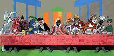 Aubrey Hallis' The Last Supper.