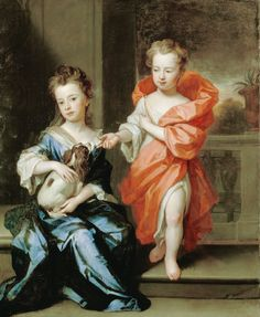 KNELLER, SIR GODFREY - The Howard Children. 1695