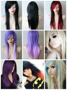 Collage Haircut Long, Long Hair Cuts, Collage, Dreadlocks, Hair Styles, Beauty, Hair Plait Styles, Collages, Long Hair