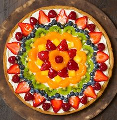Fruit Pizza | Cooking Classy