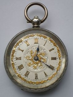 Antique Victorian Solid Silver Pocket Watch Ladies Swiss Working Order Key Wind | eBay - watches for sale, mens watches cheap designer, oversized watches *sponsored https://www.pinterest.com/watches_watch/ https://www.pinterest.com/explore/watch/ https://www.pinterest.com/watches_watch/gold-watches-for-women/ https://www.costco.com/watches.html