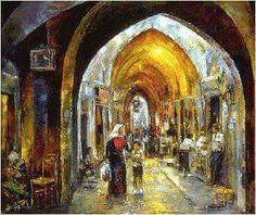 Jerusalem by Ismail Shammut