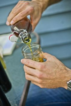 The simplest Mead to make, often called a Show Mead, contains nothing more than Honey, water and yeast.