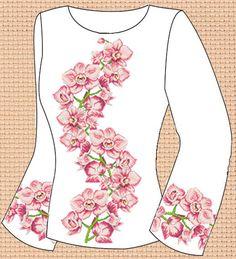 Заготовка для вишивки жіночої сорочки СЖ-157