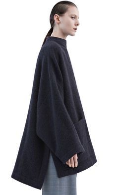 Alden oversized jacket in alpaca and wool blend #AcneStudios #PreFall2015