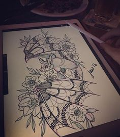 Jessica White's Work ♥ - Jessica White's Work ♥ - Future Tattoos, Love Tattoos, Beautiful Tattoos, Body Art Tattoos, New Tattoos, Small Tattoos, Tattoo Sketches, Tattoo Drawings, Spooky Tattoos
