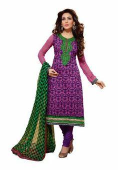Fabdeal Indian Designer Violet & Pink Pure Cotton Printed Salwar Kameez Fabdeal, http://www.amazon.de/dp/B00IL74XO8/ref=cm_sw_r_pi_dp_xOuntb0DZDZ6H