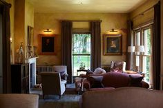 Delighted Home Grown Hotels has featured our Varese fabric for curtains & scatter cushions throughout @The_Pig_Hotel