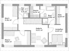 House Plans, Floor Plans, Home And Garden, How To Plan, Inspiration, Ideas, Detached House, Architecture, Homes